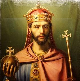 Louis le Pieux fils de Charemagne né à Chasseneuil du Poitou, près de Poitiers dans le département de la Vienne (86)