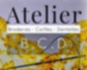 LOGO ATELIER BCD CHASSENEUIL DU POITOU POITIERS FUTUROSCOPE VIENNE 86 FRANCE REGION NOUVELLE AQUITAINE TOURISME OT-POITIERS OT BIT OFFICE ART TRADITION FOLKLORE ATELIER-BCD SALON INTERNATIONAL PATRIMOINE CULTURE ANCIEN COSTUMES RESTAURATION CREATION OUVRAGES D'ART