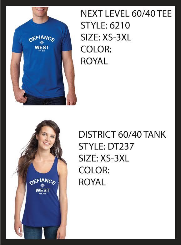 Sweats and T-shirt Order