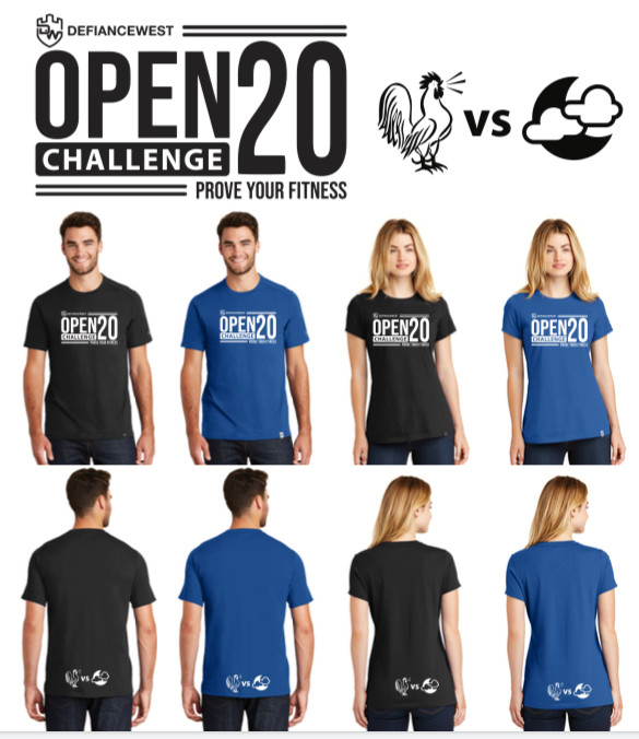 2020 CrossFit Open and AM vs. PM Challenge