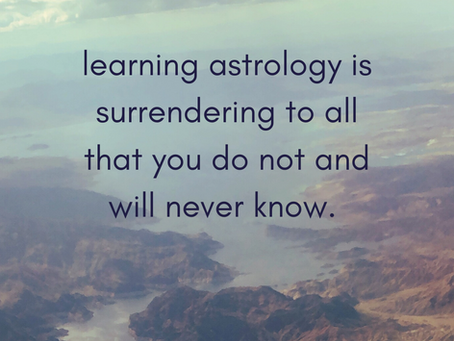 learning astrology [#dignitybabes]