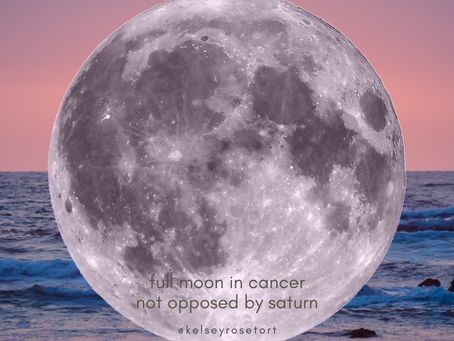 a tarot spread for the full moon in cancer - not opposed by saturn!