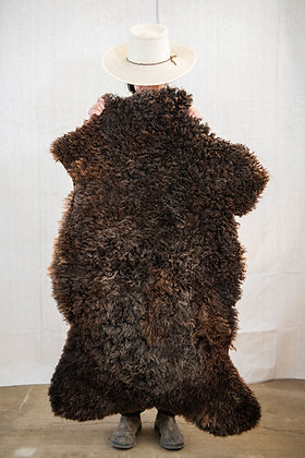 BROWN/GREY TRADITIONAL HIDE