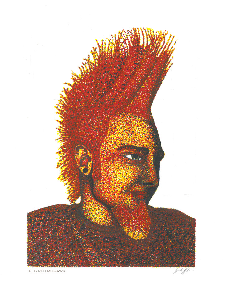 ELB Red Mohawk