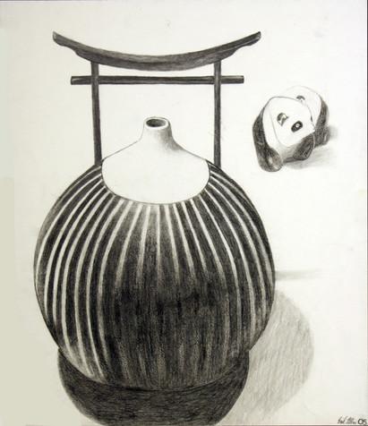 Vase and Panda