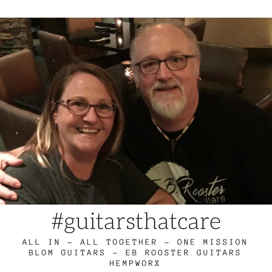 May 1....launching #guitarsthatcare