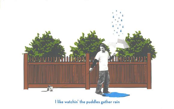 Puddles Gather the Rain