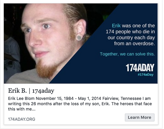 Erik's Story Feature on 174aday