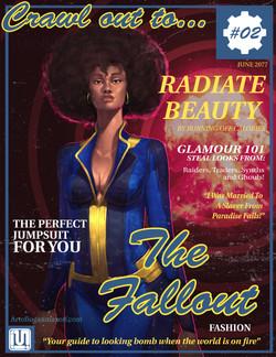 Fallout Magazine - Fro Bombshell