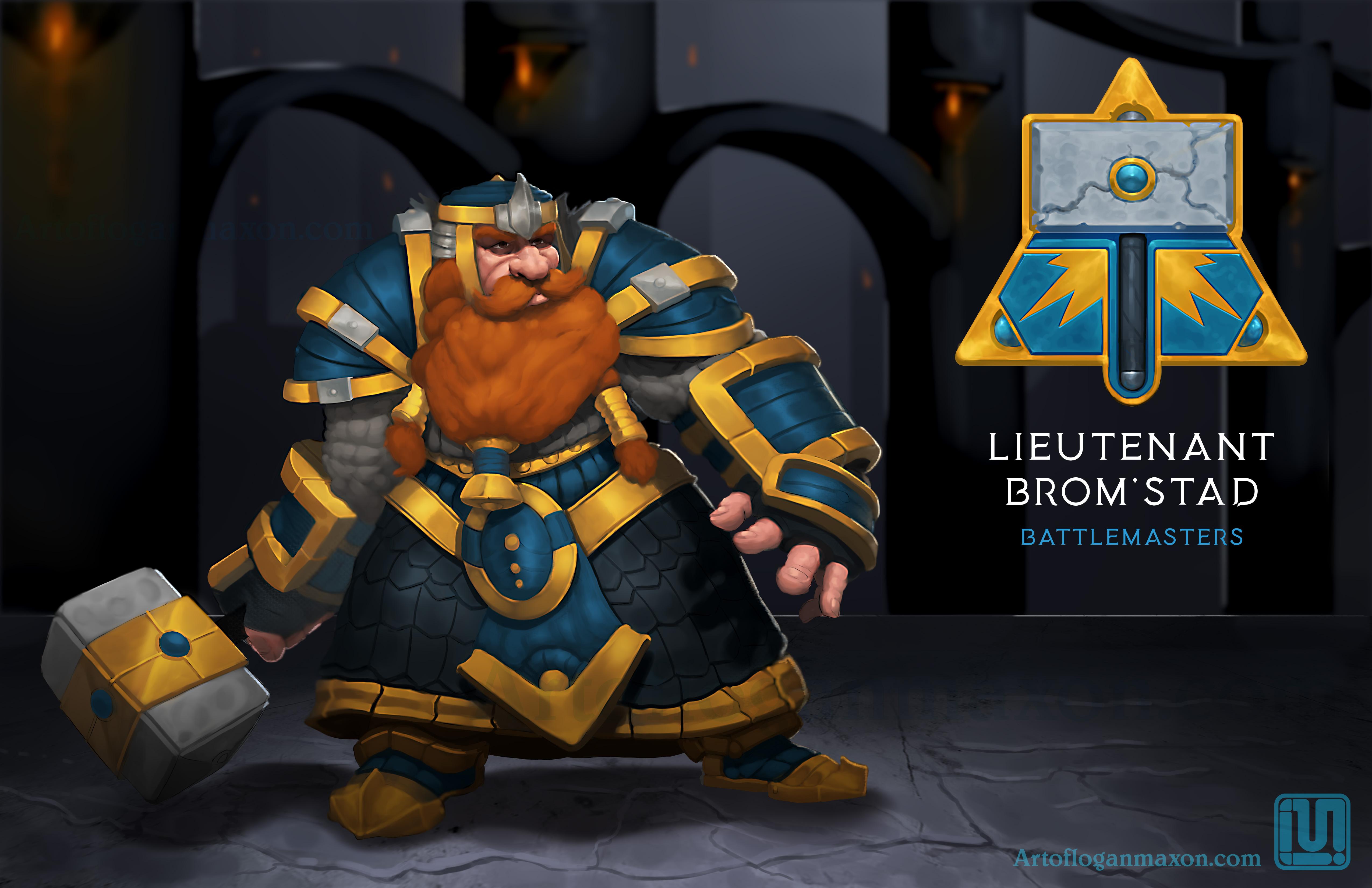 Dwarf Battle Master-Paint