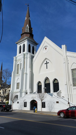 Emanuel AME Church in the old city