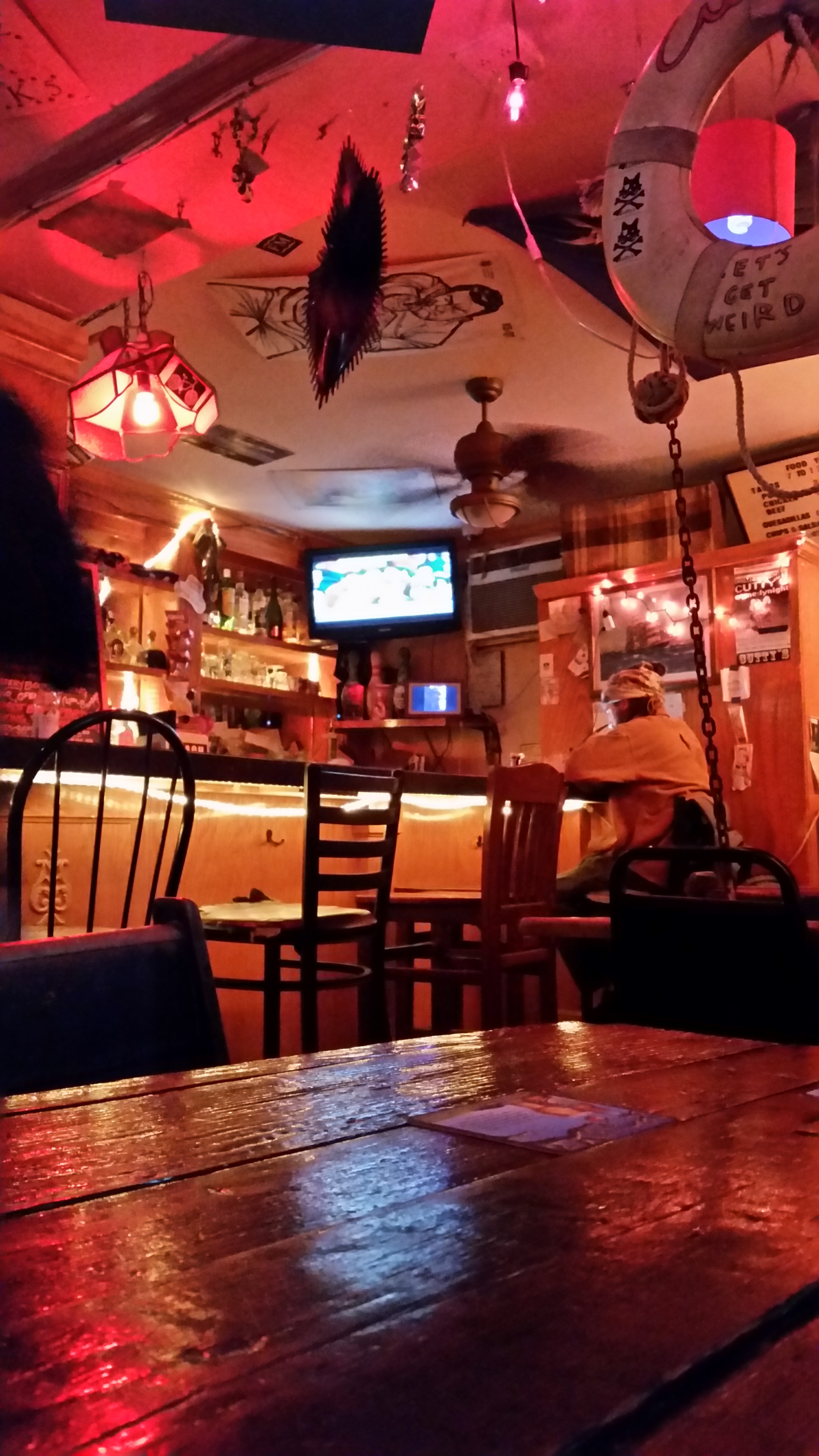 Cutty's bar in gentrifying area