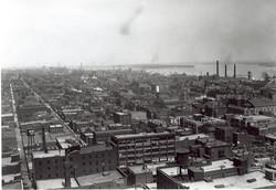 Detroit's dense eastside, 1930