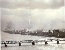 Detroit riverfront industry, 1920