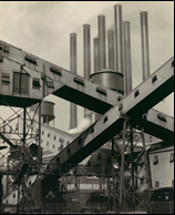 Sheeler shot of Ford Rouge complex