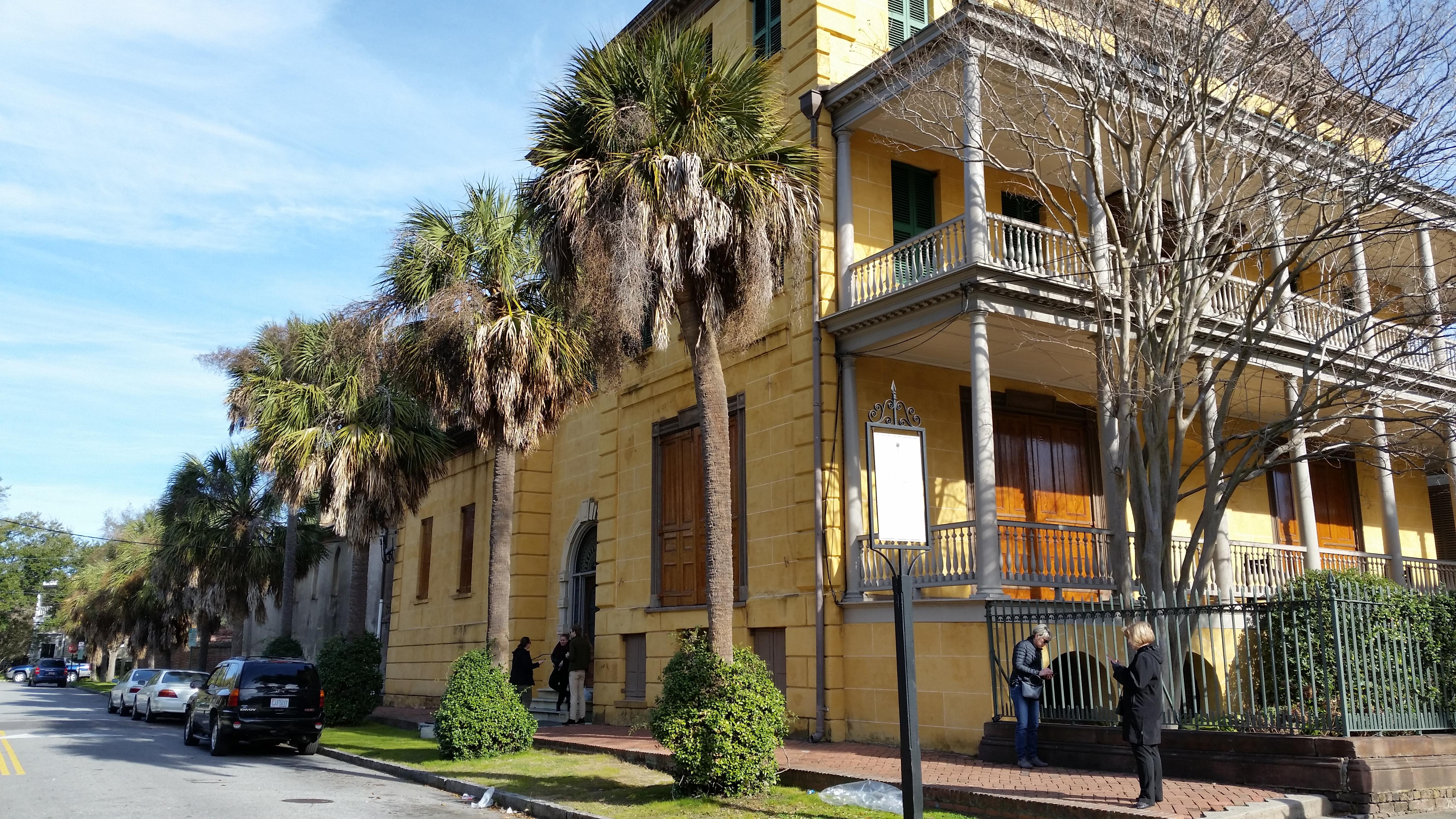 Aiken-Rhett house downtown