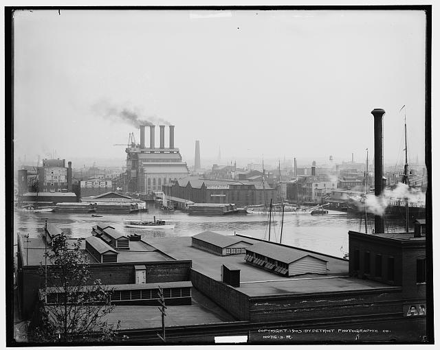 Baltimore harbor, circa 1910