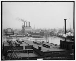 Baltimore harbor, circa 1910