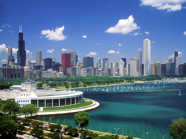 Public space on Chicago's lakefront