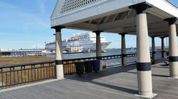East harborfront view