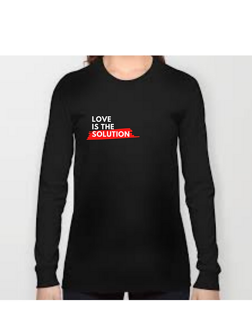 Love Is The Solution Long Sleeve