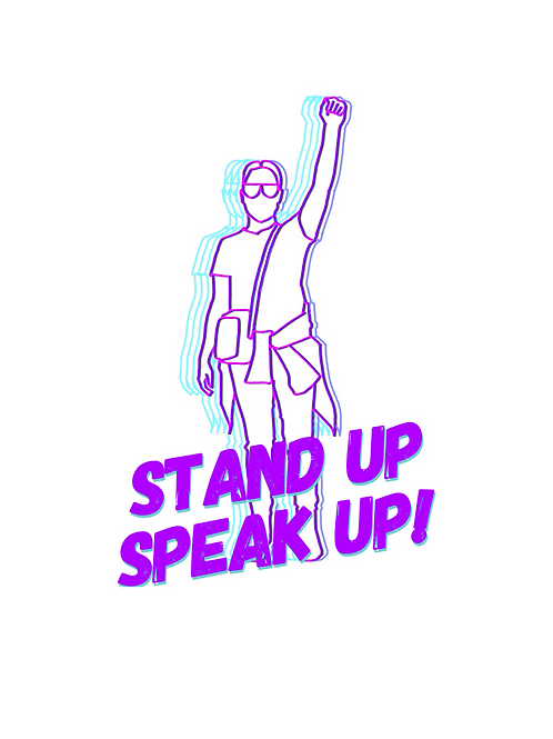 Stand Up. Speak Up. (Pledge) T-Shirts