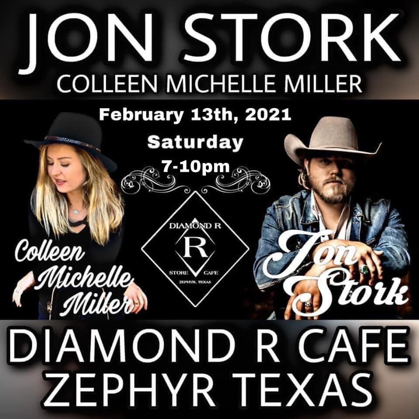 Jon Stork Full Band w/Colleen Michelle Miller Opening