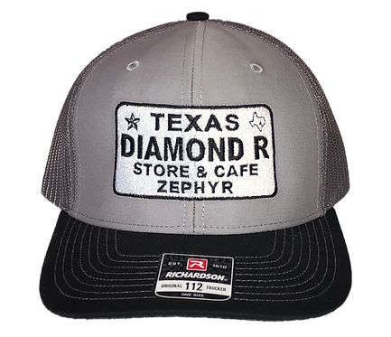 License Plate Hat - Grey/Black