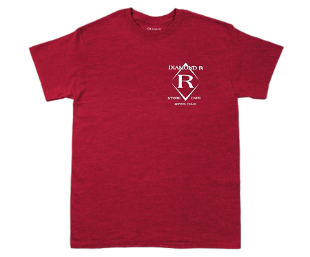 Where the heck is Zephyr, TX - Short Sleeve - Heather Red