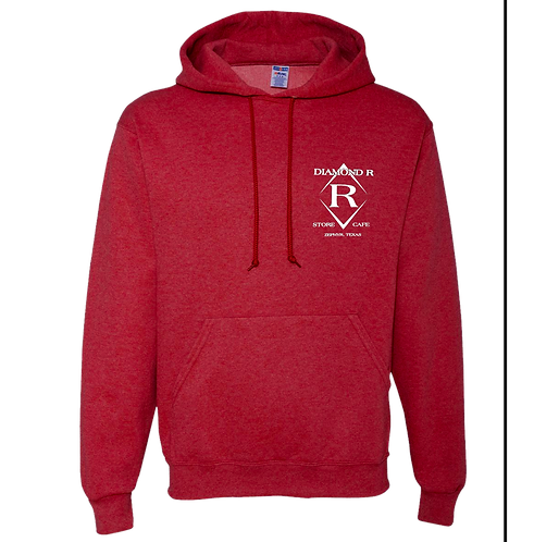 Where the heck is Zephyr, TX - Hoodie - Heather Red