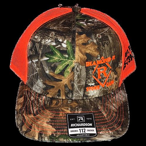 Camo Hat - Orange