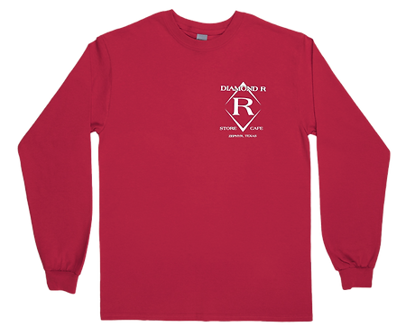 Where the heck is Zephyr, TX - Long Sleeve - Red