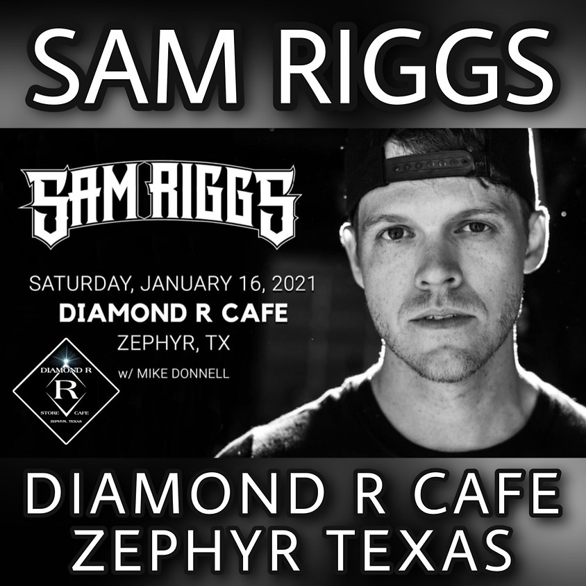 Join Sam Riggs with an intimate evening of storytelling and songwriting