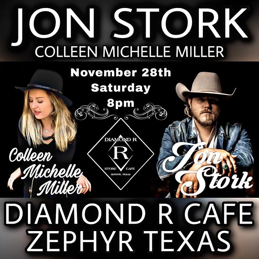 Jon Stork Full Band w/ Colleen Michelle Miller opening