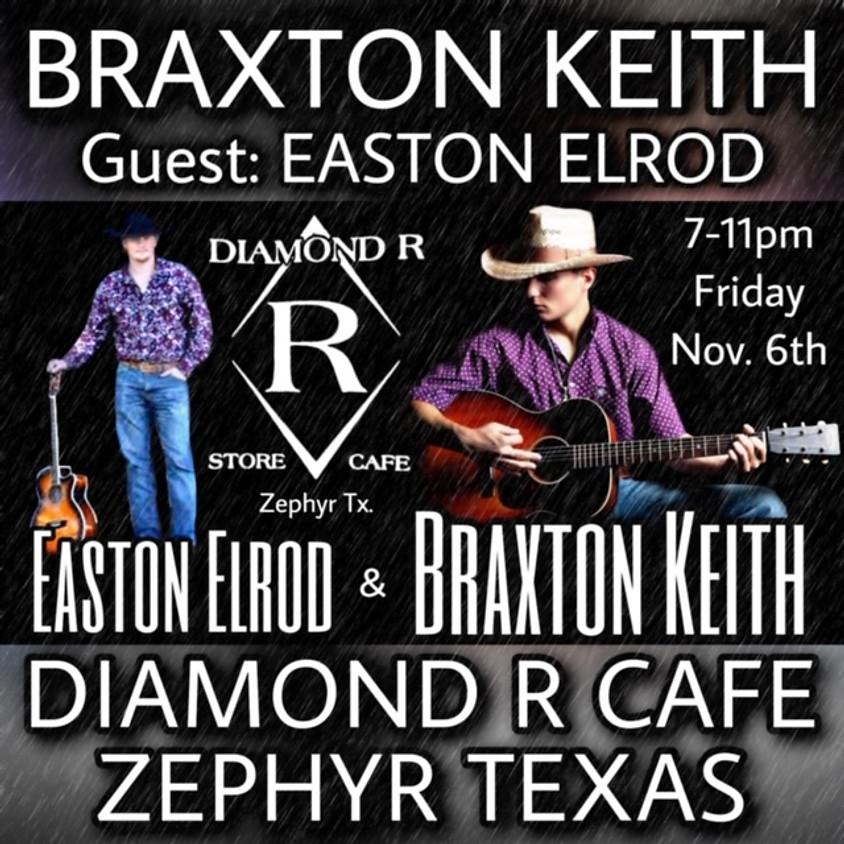 Braxton Keith Duo w/ Easton Elrod Opening
