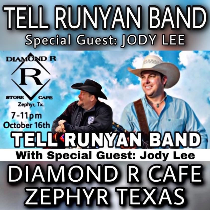 Tell Runyan Band w/ Garrett Bradford Opening