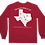 Thumbnail: Where the heck is Zephyr, TX - Long Sleeve - Heather Red