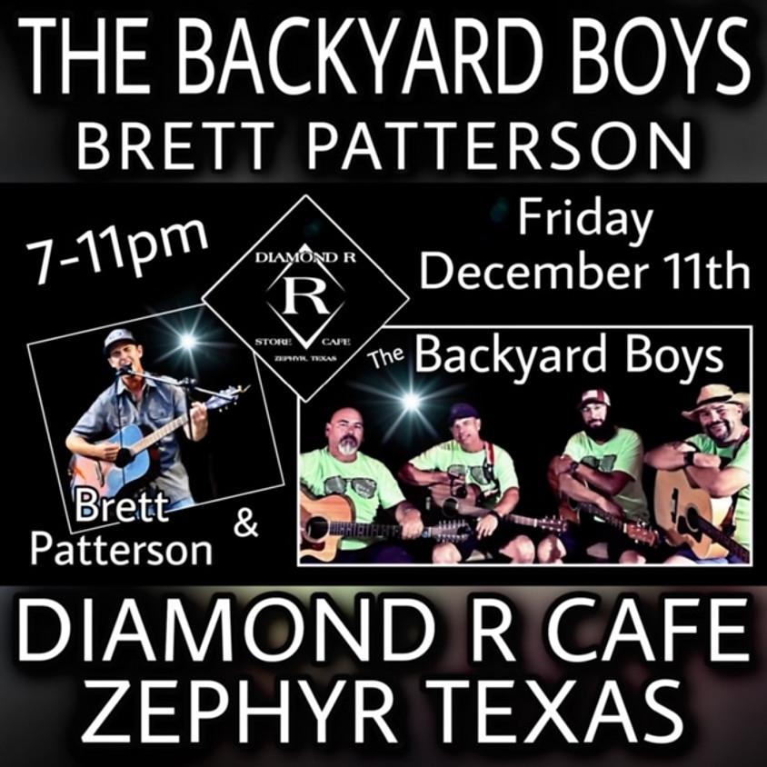 The Backyard Boys w/ Brett Patterson Opening
