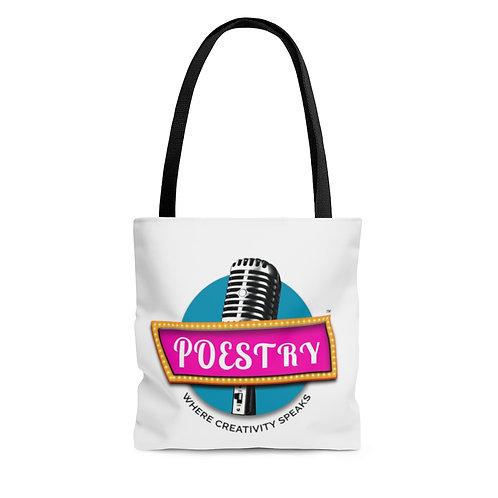 Poestry Podcast AOP Tote Bag