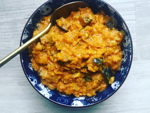 DHAL IN A HURRY – RED LENTIL & COCONUT