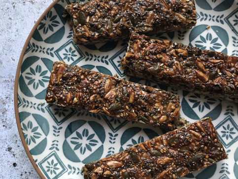 Superseed Tahini Bars
