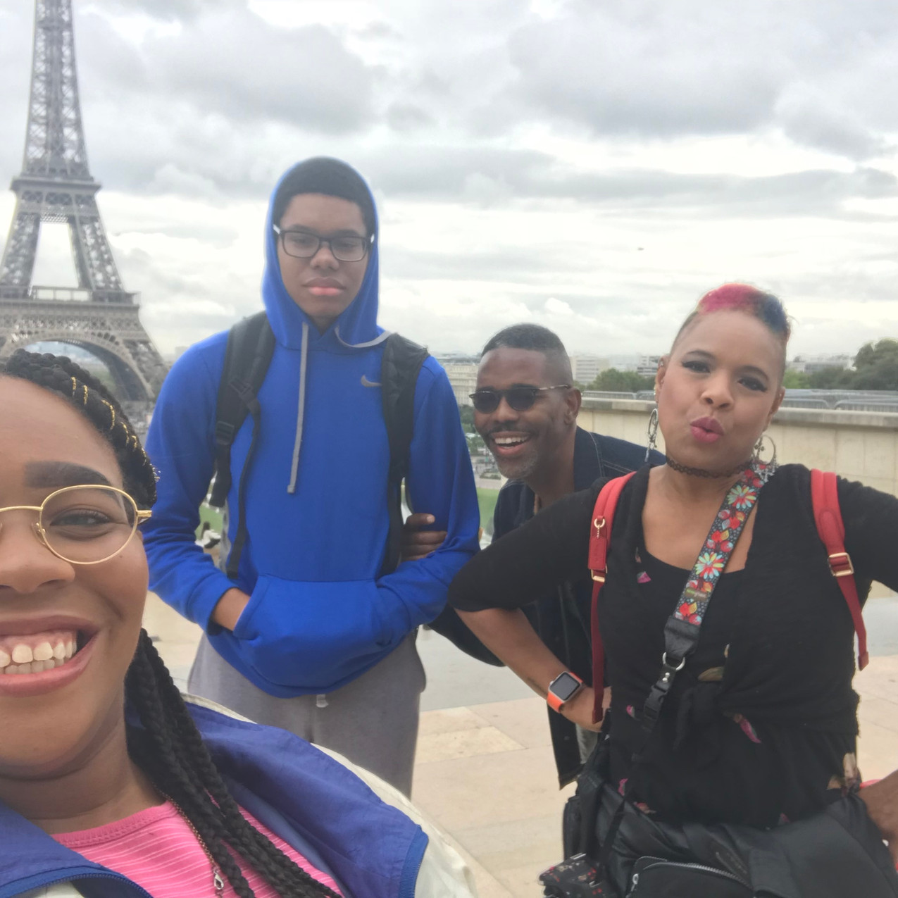 Eiffel Tower Blooming Prejippie