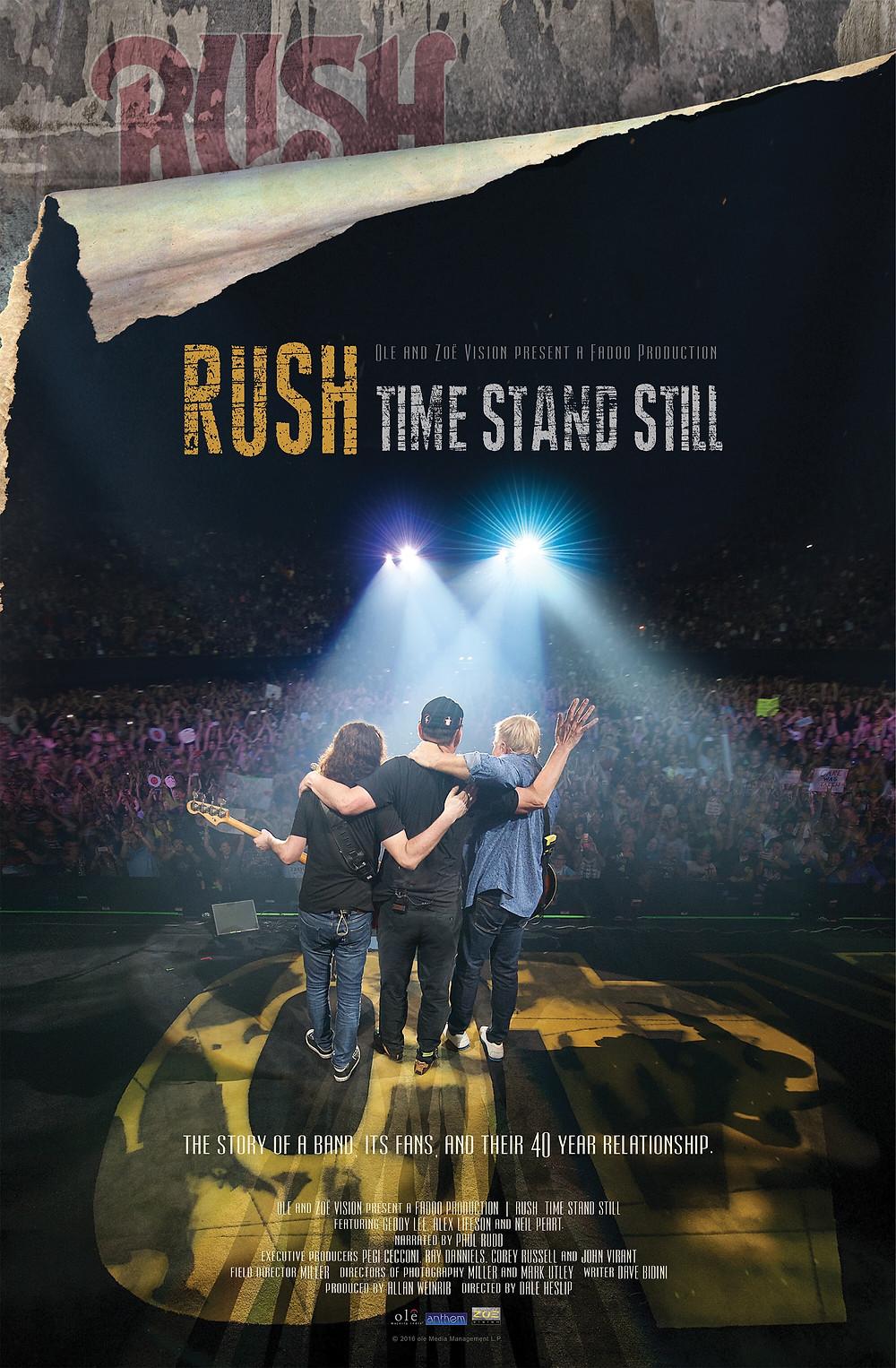 Time Stand Still Rush  --Blooming Prejippie Zine