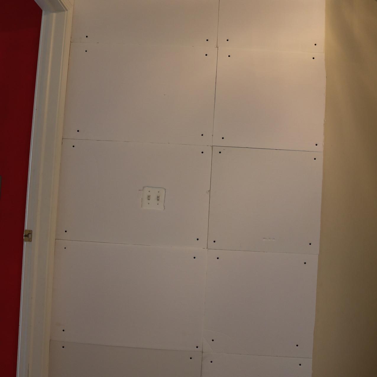 Wall of foam core