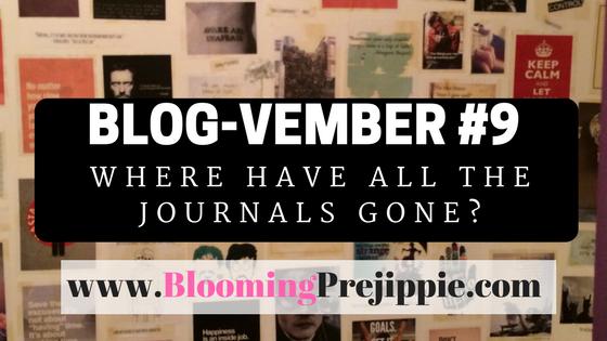 Blog-vember #8  --Blooming Prejippie Zine