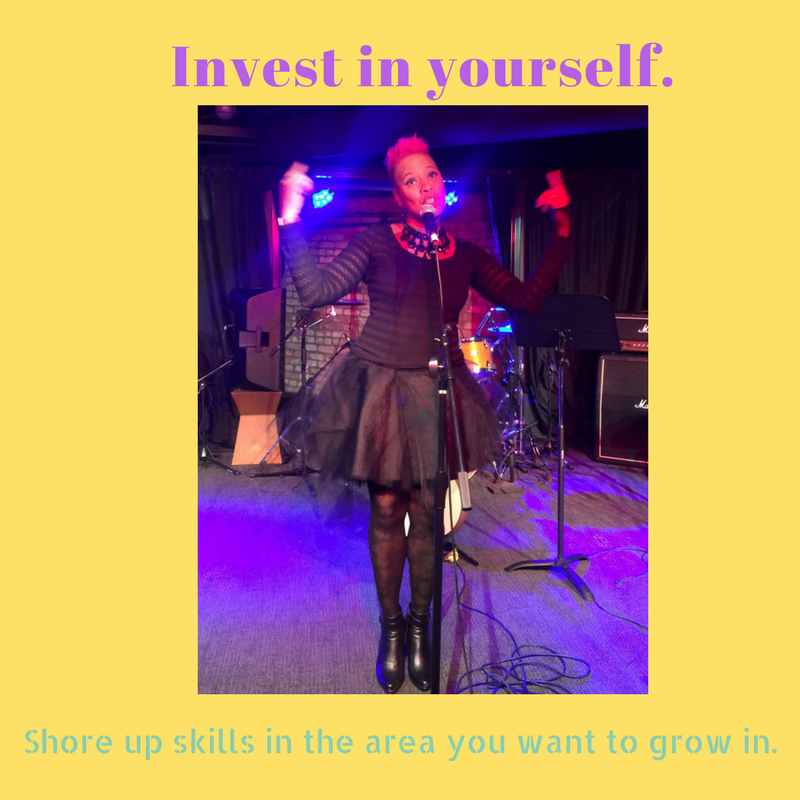 Invest in yourself.  --Blooming Prejippie Zine.