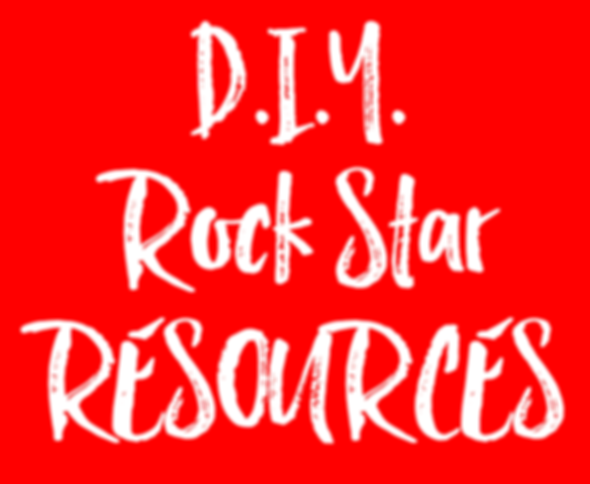 DIY ROCK STAR RESOURCES