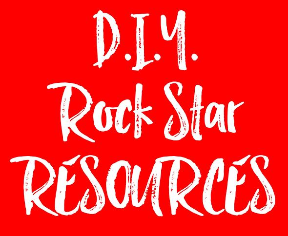 DIY ROCK STAR RESOURCES