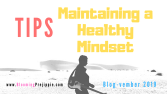 Tips for Maintaining a Healthy Mindset (for the D.I.Y. Rock Star)