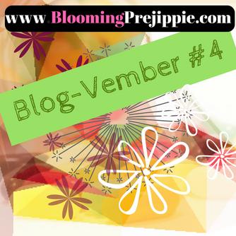 Blog-vember #4 Floral Noise